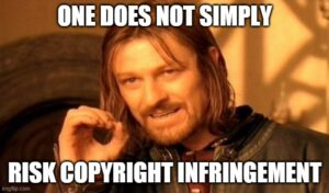 copyright infringement meme