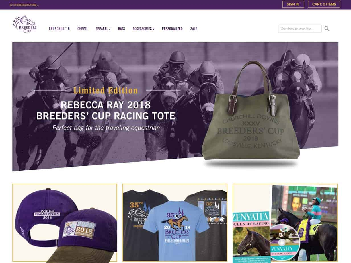 Breeders' Cup Online Store