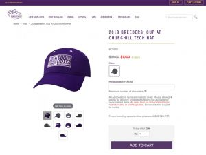Breeders' Cup Product Page